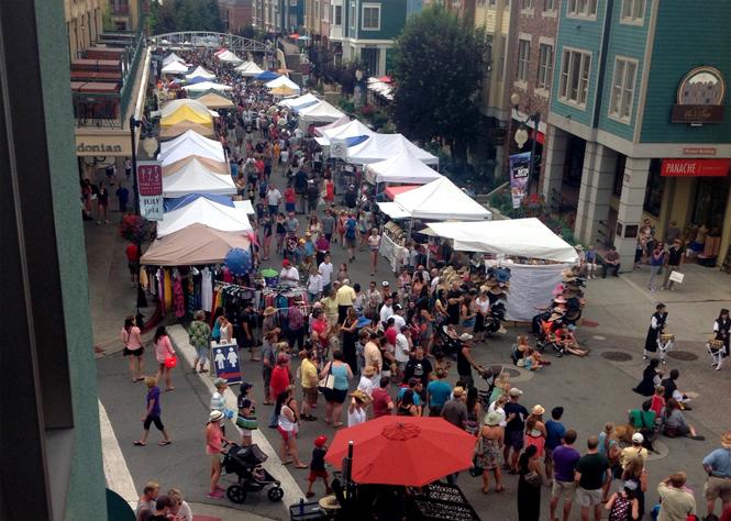 park city silly sunday market